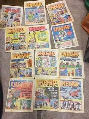 Job Lot Of Cheeky And Krazy Comics