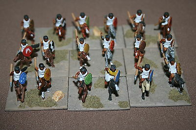 15mm Ancient Carthaginian Army - Numidian Cavalry (1), well painted