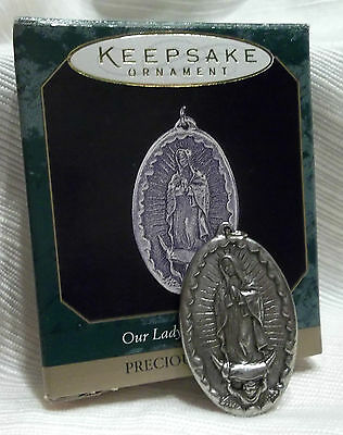 1997 Hallmark Keepsake  Our Lady Of Guadalupe-Precious Edition-New-Mint
