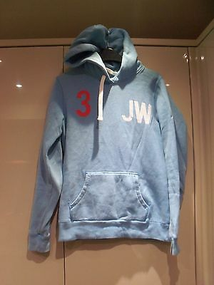 Vgc Blue Jack Wills Pullover  Hoodie Size 10 34 Ch