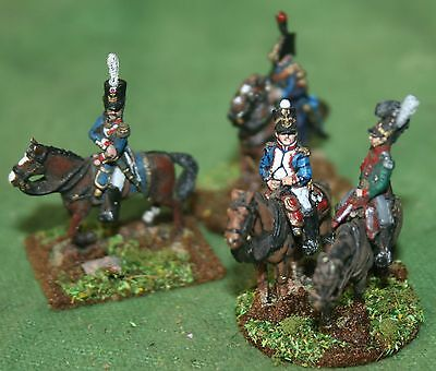 15/18mm Napoleonic French Staff officers , AB miniatures, pro painted