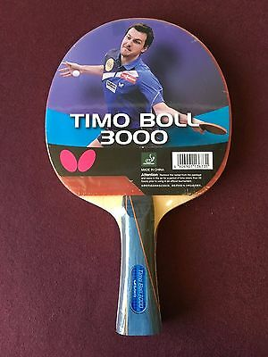 Butterfly Timo Boll 3000 Ping Pong Paddle Table Tennis Racket