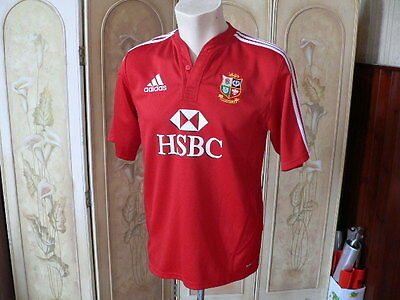 british lions rugby shirt adidas size M south africa tour 2009