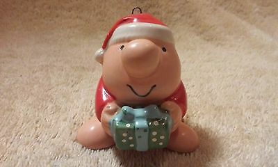 Ziggy Christmas Ornament by 1983 American Greetings