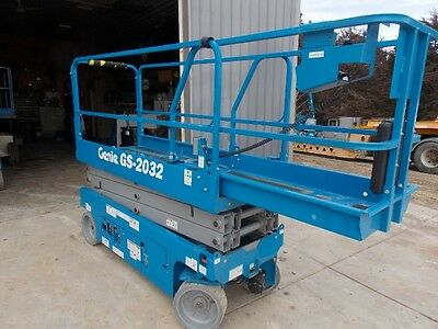 New 2017 Genie 2032 scissor lift