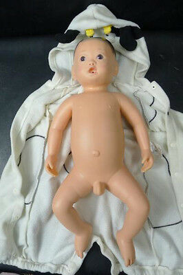 """RARE Anatomically Correct Japanese Baby Boy """"Drink & Wet"""" DOLL For Store Display"""