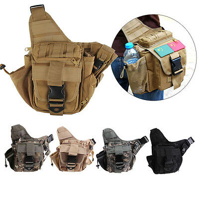 Military Tactical Crossbody Bag New Outdoor Camping Hiking Trekking Shoulder Bag