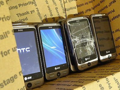 Lot of 15 HTC Freestyle AT&T Smartphones Most Power On AS-IS GSM