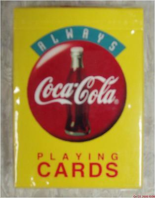 Coca-Cola PLAYING CARDS Coke new