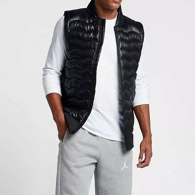 NEW Air Jordan Performance Hybrid Down Vest (807949-010) Men's Medium Aeroloft