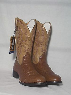 New Ariat Quantum Pro High Quality Brown Western Boots Mens Size 9D