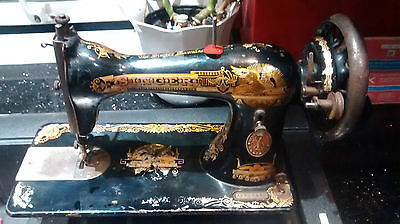 1874 Vintage Singer Sphinx Sewing Machine
