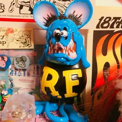 Used! Excellent! Rat fing ☆ figure ☆ ratfink Made by pvc ☆
