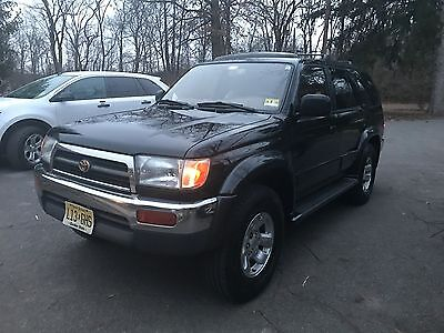 1996 Toyota 4Runner Limited Package 1996 Toyota 4Runner Limited 4WD Black