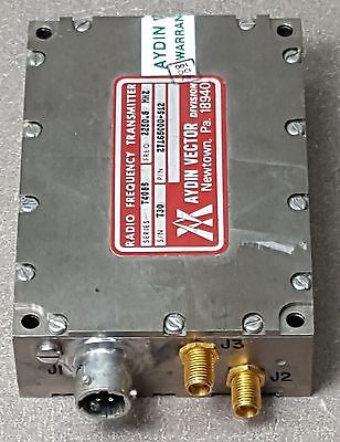 AYDIN VECTOR RADIO FREQUENCY TRANSMITTER 27165000-512 2250.5MHz