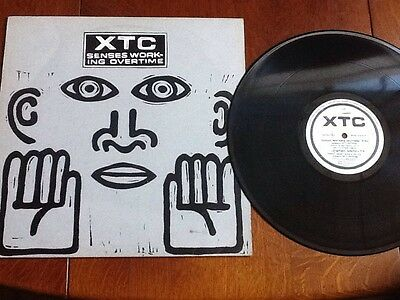"XTC - Senses Working Overtime 4-track 12"" single (Virgin - 1982)"
