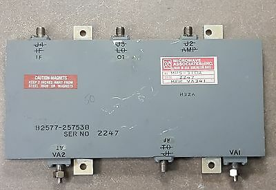 Waveguide Power Monitor Microwave Associates MPS-310A, MFR96341, 82577-257538