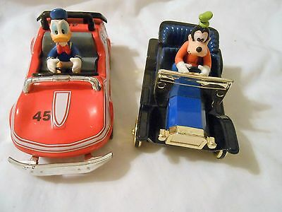 Disney Goofy Donald Souvenir Cars Never Played With See Pics Adorable