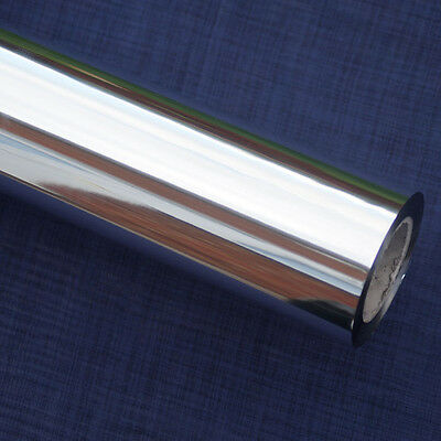 Florist Cellophane Roll Gift Wrap Silver - 100 meters lenght