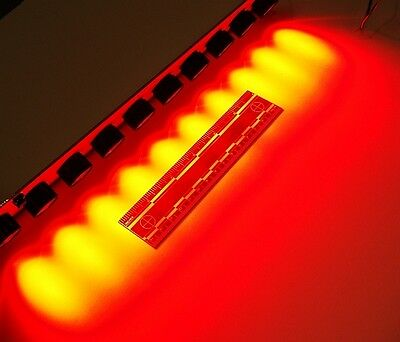 SUPER BRIGHT 10 WATT RED LED ARRAY w/ LENS OPTEK OPA740R23 luxeon lumileds cree