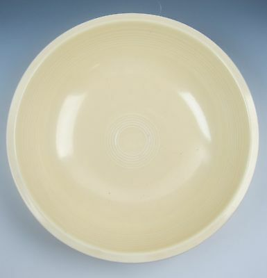 Homer Laughlin China FIESTA- YELLOW (PALE) Large Fruit bowl VERY GOOD