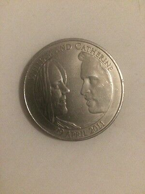 William And Kate £5 Wedding Coin