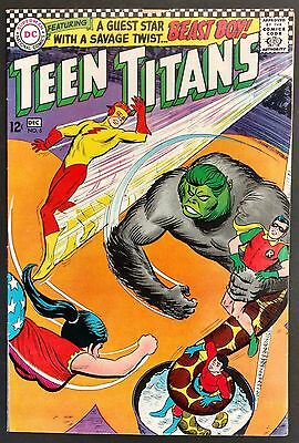 Teen Titans #6 1966 F/vf Looks Vf/vf+ But Small Piece Out Front Cov. Beast Boy!