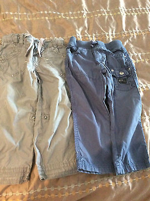 Boys Pants x 2 (Size 2-3 years)  Mothercare and Zara Baby