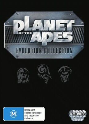 Planet of the Apes Box Set DVD [7 Discs] [Region 4] [New]