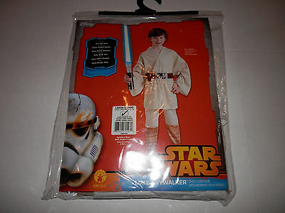 Star Wars Child's Deluxe Luke Skywalker Costume, Large 12-14