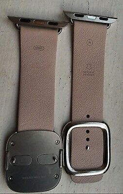 Soft Pink Modern Buckle Band Size Medium for Apple WATCH 38mm **DISCONTINUED**