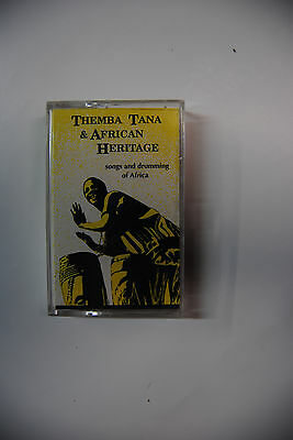 Themba Tana & African Heritage Vancouver Folk Festival 1982 Cassette ultra rare!