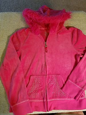 Justice Girls Hooded Jacket size 14
