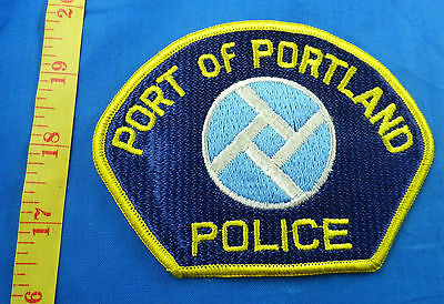 Port Of Portland Oregon Police Embroidered Cloth Patch