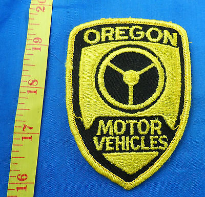 Old Motor Vehicles Oregon Embroidered Cloth Patch - Dmv