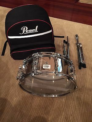 Pearl WA Snare Drum -- Steel Shell -- Carrying Case Included