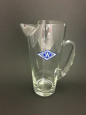 Vintage Westchester Country Club Rye NY Cocktail Martini Glass Pitcher New York