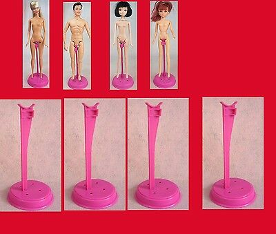 -  8  items --8 Pink    stand  Display Model  for Barbie Doll  Mac087