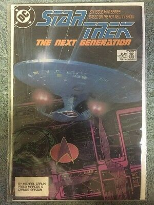 Star Trek The Next Generation #1 (DC comic February 1988 VF)