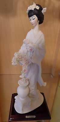 G.Armani Figure Florence Oriental Lady1987 ITALY Capodimonte (N) CROWN Porcelain