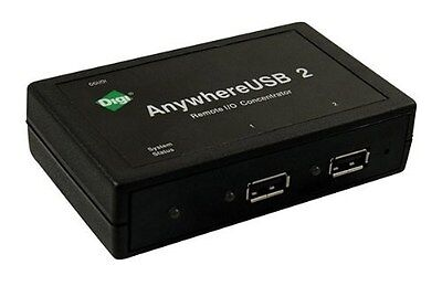 Digi Anywhereusb 2 - Terminal Server - 2 Ports - 10Mb Lan, Usb, 100Mb Lan