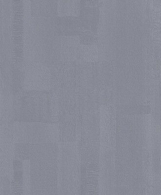 Simple Textured Blue Non Woven Wallpaper Wall Covering Decor Design