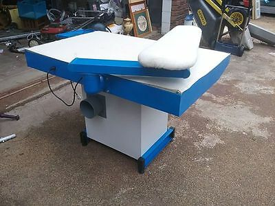 commercial hotel motel Ironing table heated suction Iron Blower 4 sheets towels