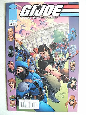 G.i. Joe: A Real American Hero # 4 (Image Comics, First Print, 2001), Nm