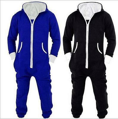 Hot Blue/Black Adult Unisex Onesies Costume Onesie Kigurumi Pajamas Sleepwear P4