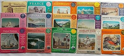 15  View Master  World  Packets  1950s  Sawyer's  S3  S4