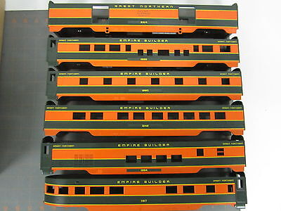 Mth O Scale Passenger Car Shells, Great Northern Empire Builder