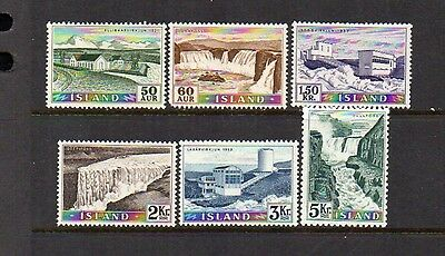 Iceland #289396 Set  - Mint  and  Nice cv$63.00