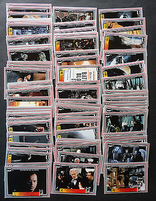 BATMAN RETURNS 1992 full set base 150 cards + set of 20 STICKERS - DYNAMIC