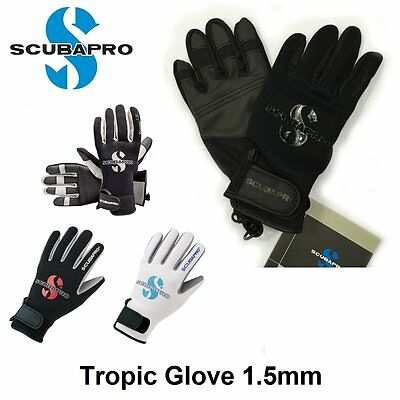 Scubapro Tropic Glove 1.5mm 58-325 58-326 58-041 58-048 Scuba Diving Gloves
